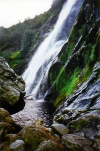 Cascade de Powerscourt (Powerscourt Waterfall - Wicklow)