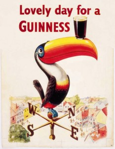toucan Guinness Lovely day for a Guinness