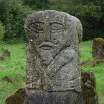 Janus- lac- Irlande- statue