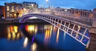 irlande-dublin-pont-nuit