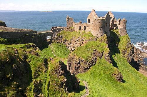 Dunluce castle- château - Irlande du nord - Antrim - visites - tourisme