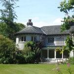 Mont - Usher - montagne - Irlande - Chemin - Randonnée - Wicklow - café - pont - maison