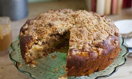 Irish - crumble - cake - apple - pomme - gâteau - irlande - skehan - donal