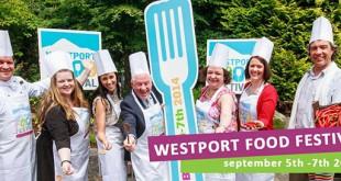 Wesport - festival - food - dégustation - gastronomie - fringe - Irlande - tourisme - évènement - image - cuisiniers